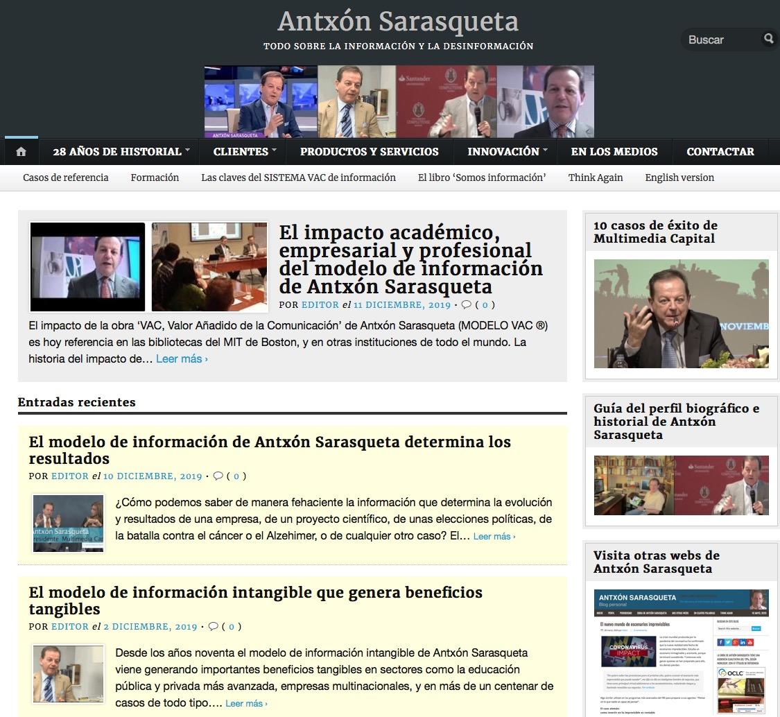 Imagen de acceso a otras webs de Antxón Sarasqueta
